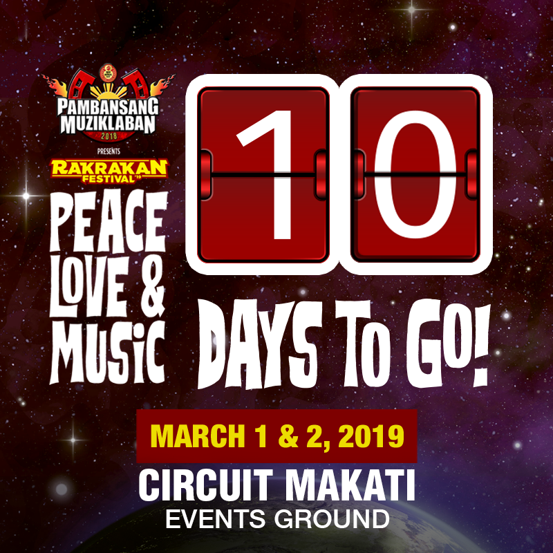 10 DAYS TO GO!